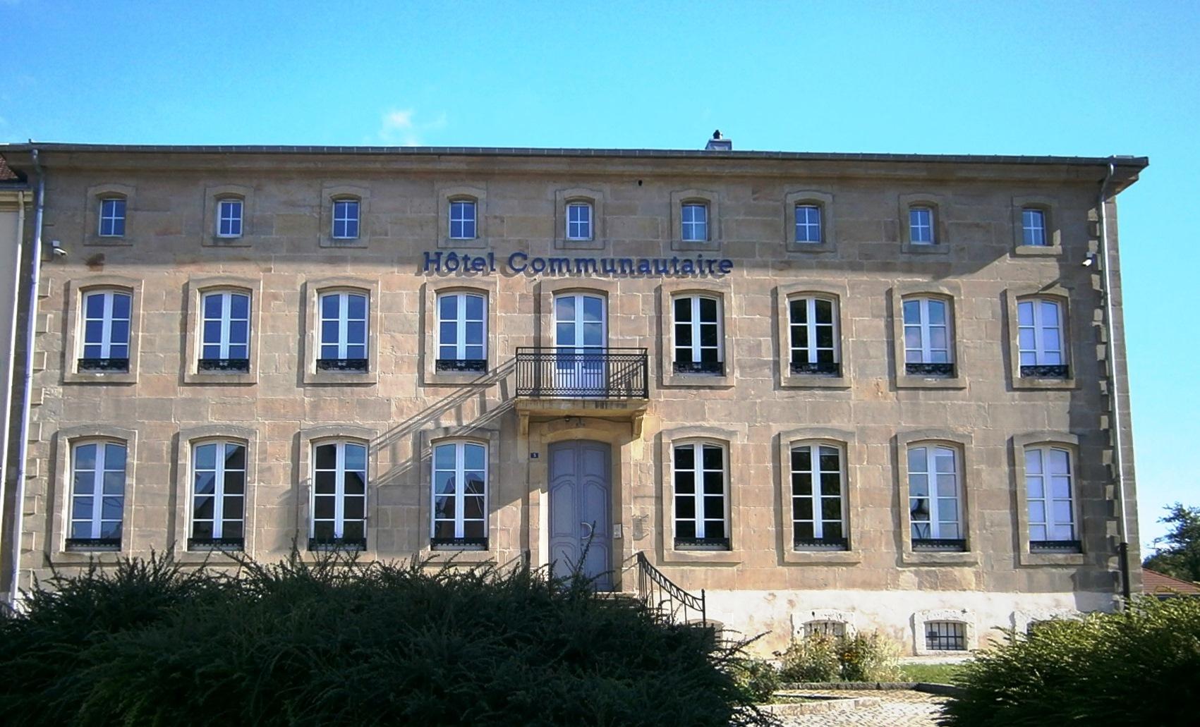Hôtel communautaire, Communauté de Communes du Bouzonvillois, Moselle, Lorraine